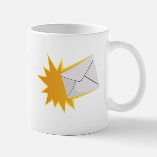 Blasting Letter Mugs