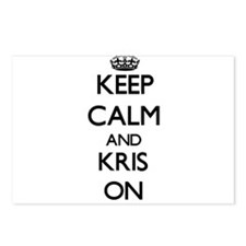 Keep Calm and Kris ON Postcards (Package of 8)