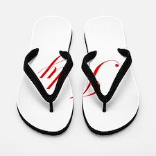 Judy-Edw red 170 Flip Flops