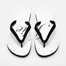 Julie-Edw gray 170 Flip Flops