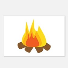 Outdoor Fire Postcards (Package of 8)