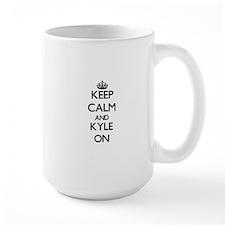 Keep Calm and Kyle ON Mugs