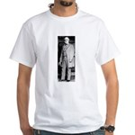 Lee standing White T-Shirt