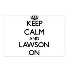 Keep Calm and Lawson ON Postcards (Package of 8)