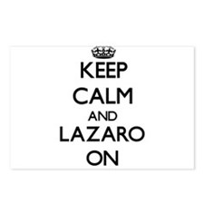 Keep Calm and Lazaro ON Postcards (Package of 8)