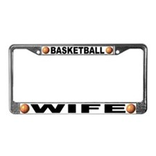 Basketball Wife License Plate Frame
