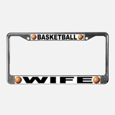 Basketball Wife License Plate Frame