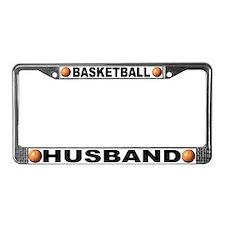 Basketball Husband License Plate Frame