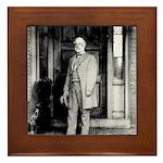 Lee portrait Framed Tile