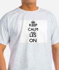 Keep Calm and Les ON T-Shirt