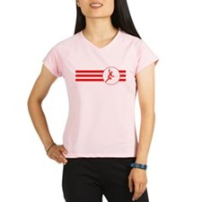 Fencer Stripes (Red) Performance Dry T-Shirt