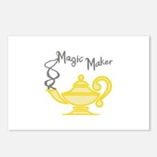 MAGIC MAKER Postcards (Package of 8)