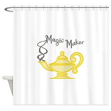 MAGIC MAKER Shower Curtain