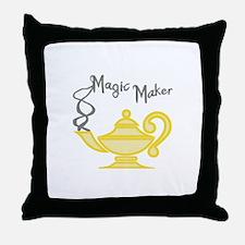 MAGIC MAKER Throw Pillow