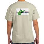 WVAngler.com Ash Grey T-Shirt