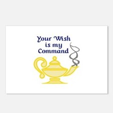 WISH IS MY COMMAND Postcards (Package of 8)