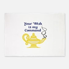 WISH IS MY COMMAND 5'x7'Area Rug