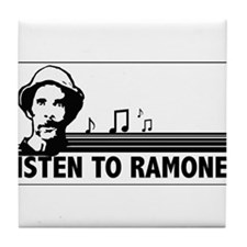 Cute Ramon Tile Coaster