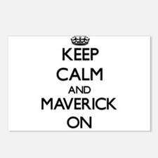 Keep Calm and Maverick ON Postcards (Package of 8)