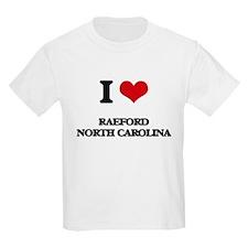 I love Raeford North Carolina T-Shirt