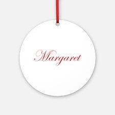 Margaret-Edw red 170 Ornament (Round)