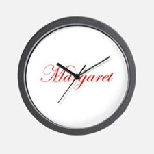 Margaret-Edw red 170 Wall Clock