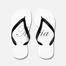Maria-Edw gray 170 Flip Flops