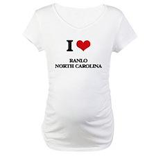I love Ranlo North Carolina Shirt