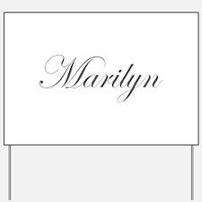 Marilyn-Edw gray 170 Yard Sign