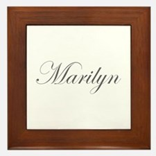 Marilyn-Edw gray 170 Framed Tile