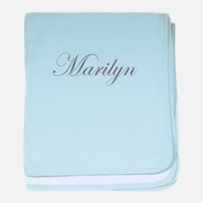 Marilyn-Edw gray 170 baby blanket