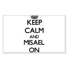 Keep Calm and Misael ON Decal