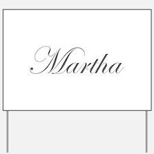 Martha-Edw gray 170 Yard Sign