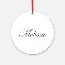 Melissa-Edw gray 170 Ornament (Round)