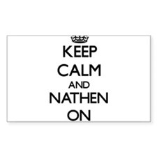 Keep Calm and Nathen ON Decal