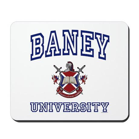 BANEY University Mousepad