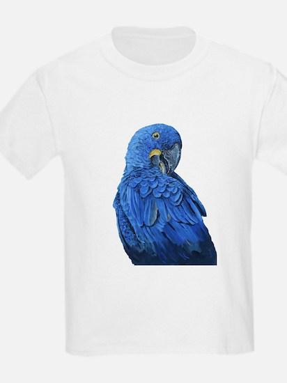 Hyacinth Macaw portrait T-Shirt