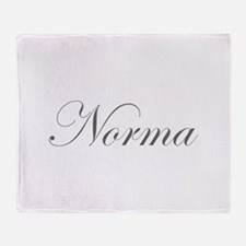 Norma-Edw gray 170 Throw Blanket