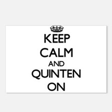 Keep Calm and Quinten ON Postcards (Package of 8)