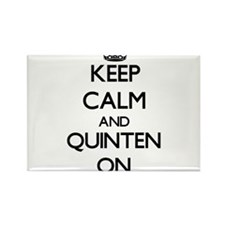 Keep Calm and Quinten ON Magnets