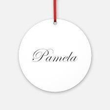 Pamela-Edw gray 170 Ornament (Round)