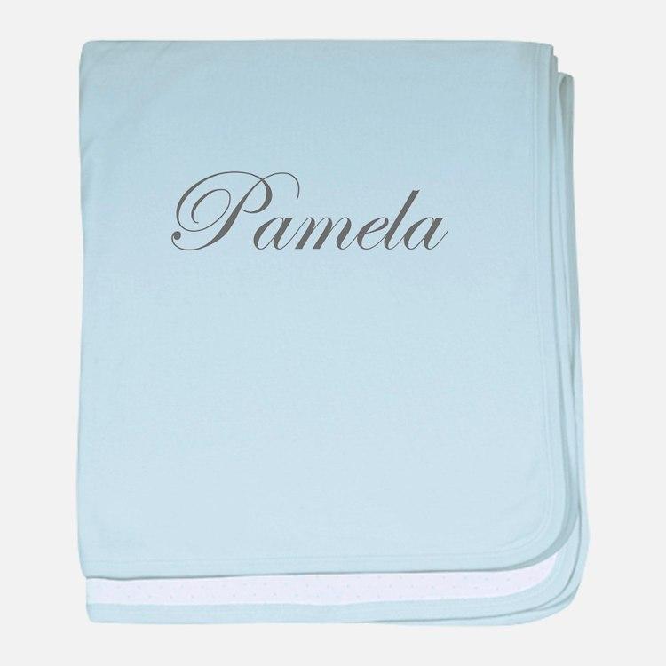 Pamela-Edw gray 170 baby blanket