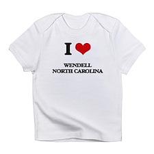I love Wendell North Carolina Infant T-Shirt
