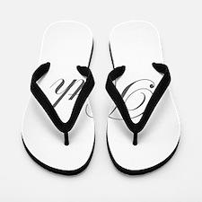 Ruth-Edw gray 170 Flip Flops