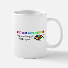 Autism Jesus Fish Mug