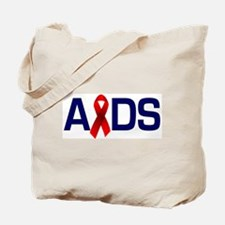 Aids with a Ribbon  Tote Bag