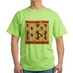 George Ohr Abstract Expressio Green T-Shirt