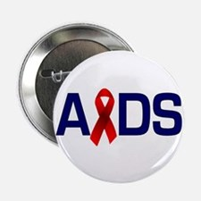 Aids with a Ribbon Button