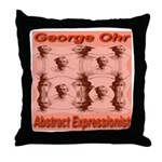 George Ohr Abstract Expressio Throw Pillow
