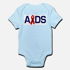 Aids with a Ribbon  Infant Creeper